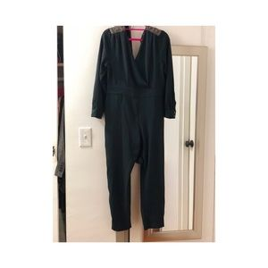 Zara long sleeve jumpsuit
